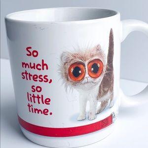 Coffee mug with cat